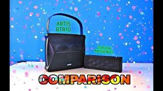 Zoook MusicBot vs Artis BT R10 Comparison Video | Best Budget Speakers Below Rs.2000