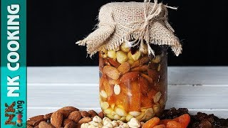 Орехи и Сухофрукты с Мёдом 🍯 Витаминная Смесь 🍯 Идея Подарка 🍯 Рецепты NK cooking