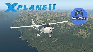 X-Plane 11 - Домодедово - Шереметьево