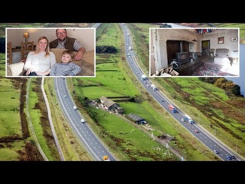 Inside the world famous M62 house where 'stubborn farmer refused to move for motorway'