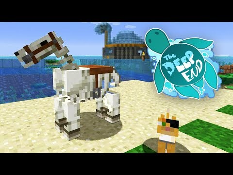 I Got One!!!! | The Deep End Minecraft SMP Ep.4
