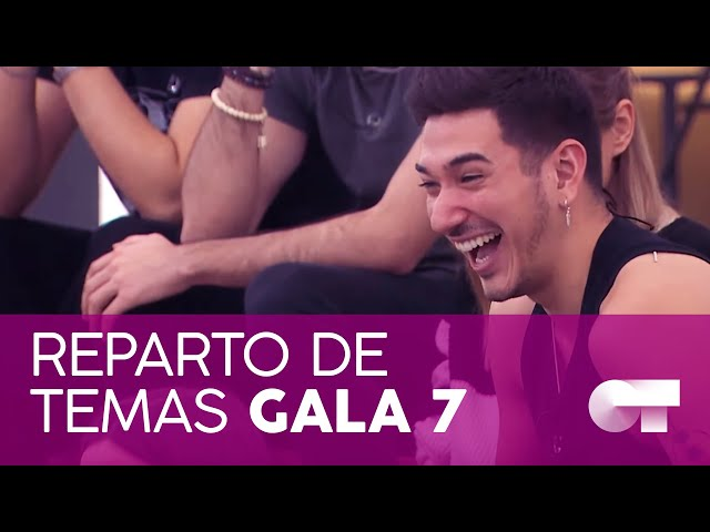 REPARTO DE TEMAS GALA 7 | OT 2020