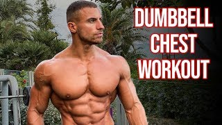 Full Chest Workout Using ONLY Dumbbells