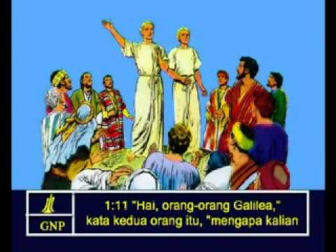 Acts 1 Indonesia Picture Bible