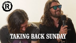 Taking Back Sunday Talk New Album Plans amp Weird Merch Ideas