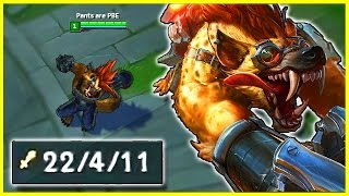 WARWICK REWORK JUNGLE - 2v5 UNOFFICIAL PENTAKILL | League of Legends