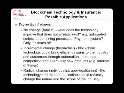 How Might Blockchain Technology Transform Personal Insurance  01.10.2014