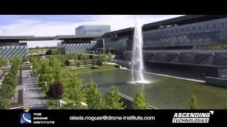 UAV / Drone Demo Flight – Telephonica Headquarter In Madrid, Spain
