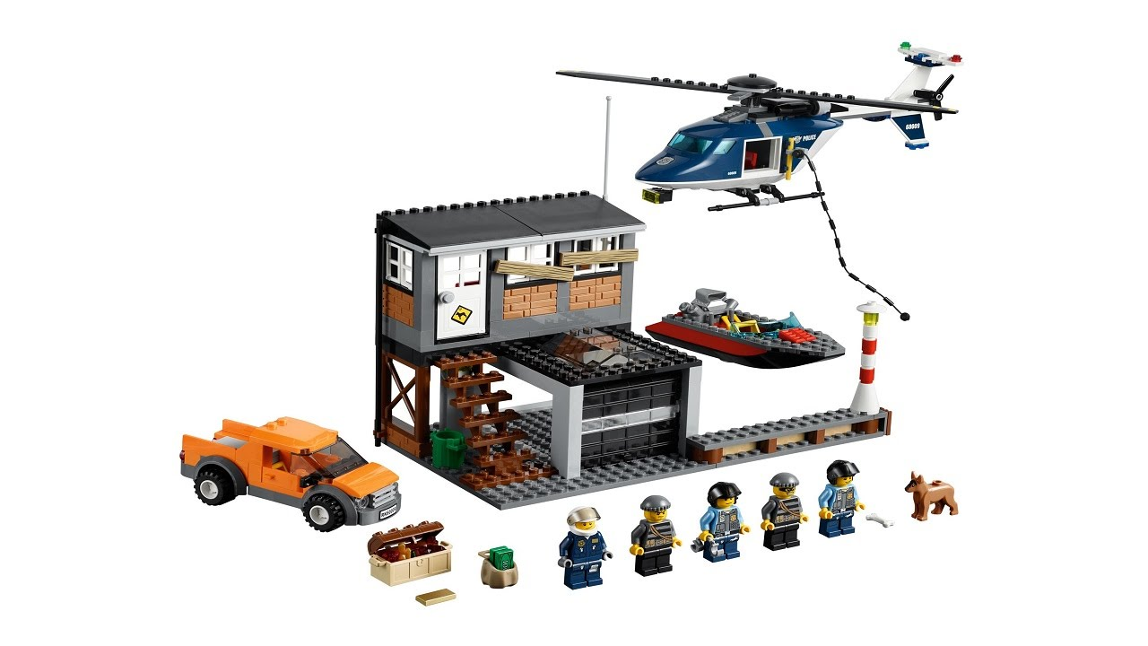 Lego 60009 Helicopter Arrest City Police Instruction Booklet Youtube