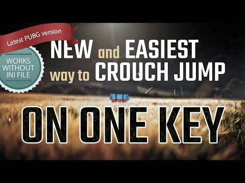 PUBG crouch jump howto without ini file latest version