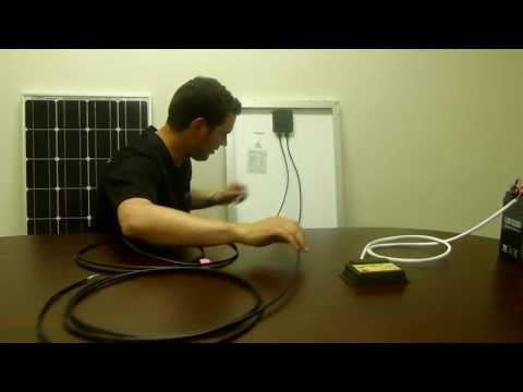 Renogy: 100 Watt Starter Kit Solar Panel Installation Guide (Previously Complete Kit)