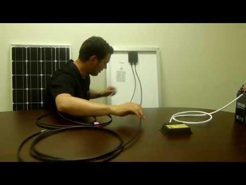 hook up solar panels