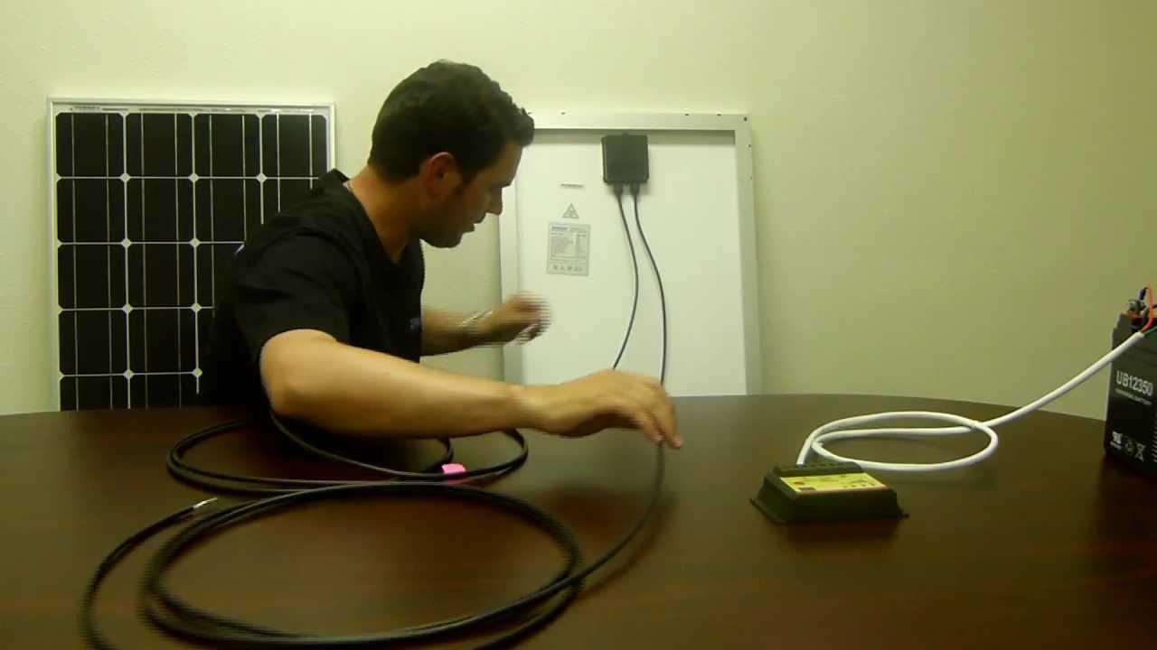 Caravan Wiring Diagram With Solar Renogy 100 Watt Starter Kit Solar Panel Installation