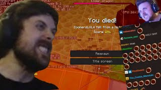 NEVER LUCKY! - Forsen Minecraft Speedrun (with chat)