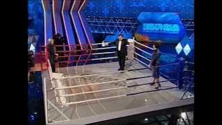 Бондаренко и Геращенко на ринге
