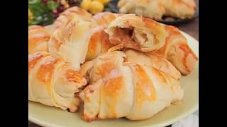 Легкий рецепт круассанов | Как приготовить слоеное тесто для круассанов