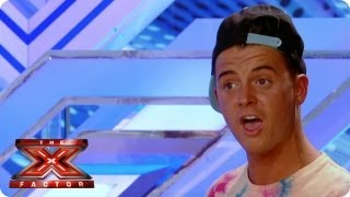 What the X? Ryan has a go at Gary Barlow! - The X Factor 2013