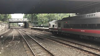 Inside look of the Metro-North New Rochelle Station + Railfanning Madness!