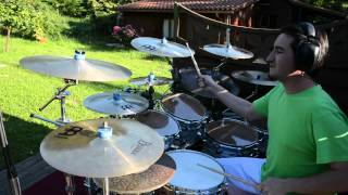 Mike Oldfield - Moonlight Shadow - Drum Cover by Alex Rey