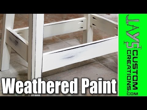 how-to-get-an-antique/weathered-paint-finish---131