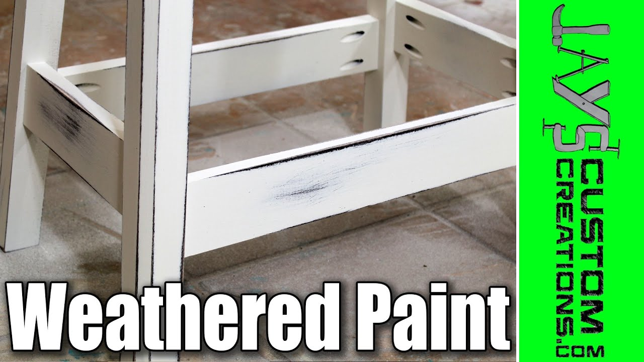 How To Get An Antique Weathered Paint Finish 131