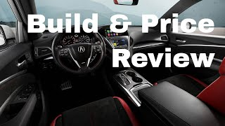 2019 Acura MDX SH-AWD w/A-Spec Package - Build & Price Review: Features, Packages, Interior