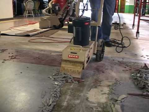 See The Edco Tile Shark Tile Remover In Action Youtube