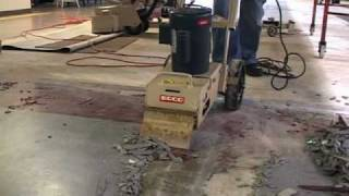 see the edco tile shark tile remover in action