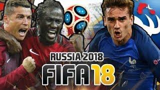 QUEM É QUE OS VAI F****??? // Mundial Rússia - Portugal x França [#05 Quartos-de-Final]