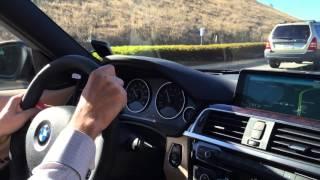 2016 BMW 340i test-drive