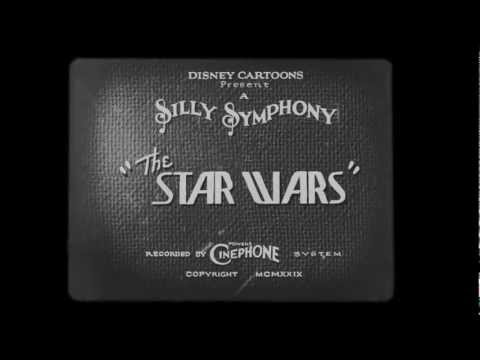Walt Disney 1920s Star Wars intro