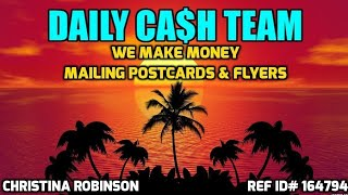Make Money Mailing Postcards And Flyers From Home Mail Order How to Make Money Offline Easy Work