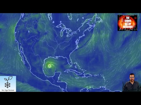 LIVE Tonight! Grand Solar Minimum w Ice Age Farmer! Crop Losses & Hurricane Harvey