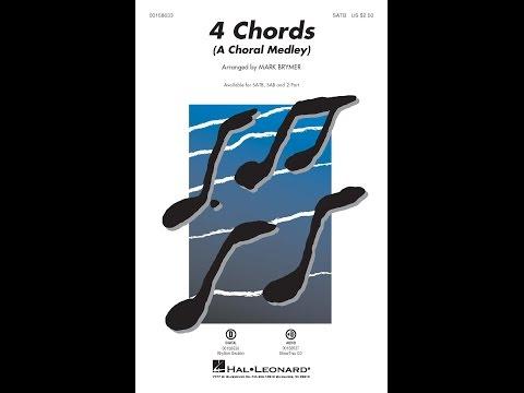 4 Chords (A Choral Medley) (SATB) - Arranged by Mark Brymer