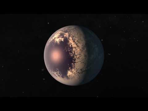 asi son los mundos que orbitan trappist-1