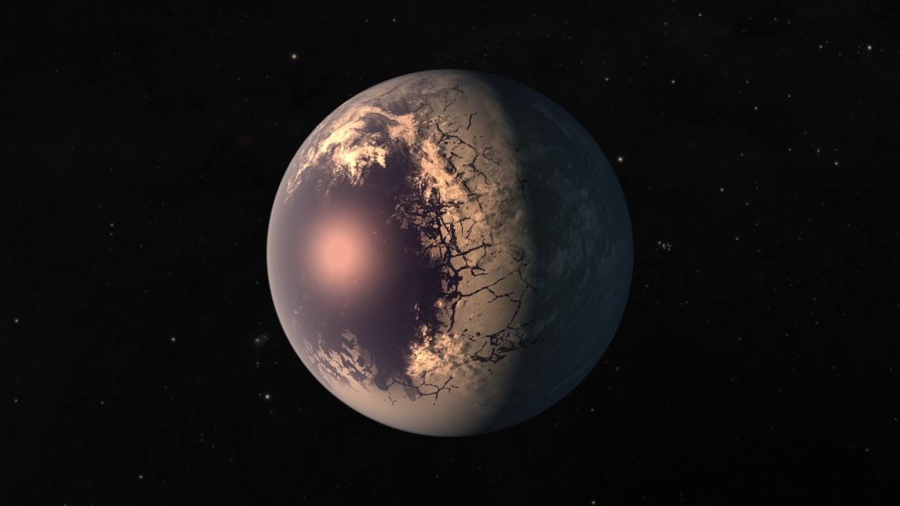 TRAPPIST-1 Planets - Flyaround Animation