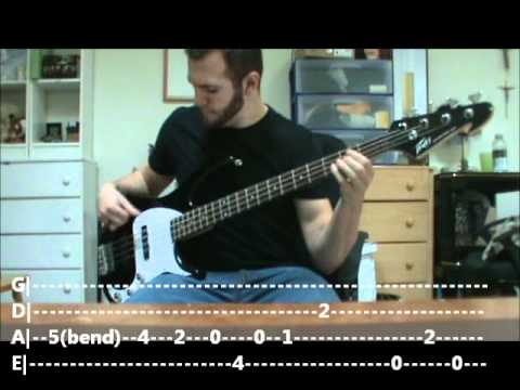 Bass With Mike - Interstate Love Song STP bass cover (tabbed in vid!)