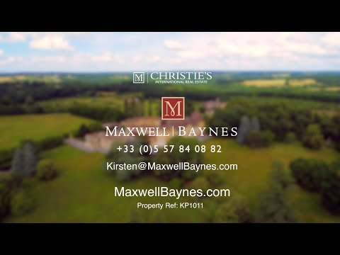 Chateau property for sale in Dordogne, France 190 ha estate, EXCLUSIVE to Maxwell-Baynes Ref:KP1011