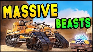 Crossout - MASSIVE BEASTS & WITCH HUNT (Crossout Gameplay)