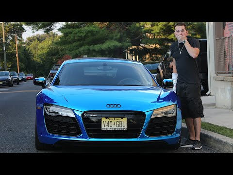 I CAN'T BELIEVE THEY DID THIS TO MY CAR.. (AUDI R8 V10) - SU