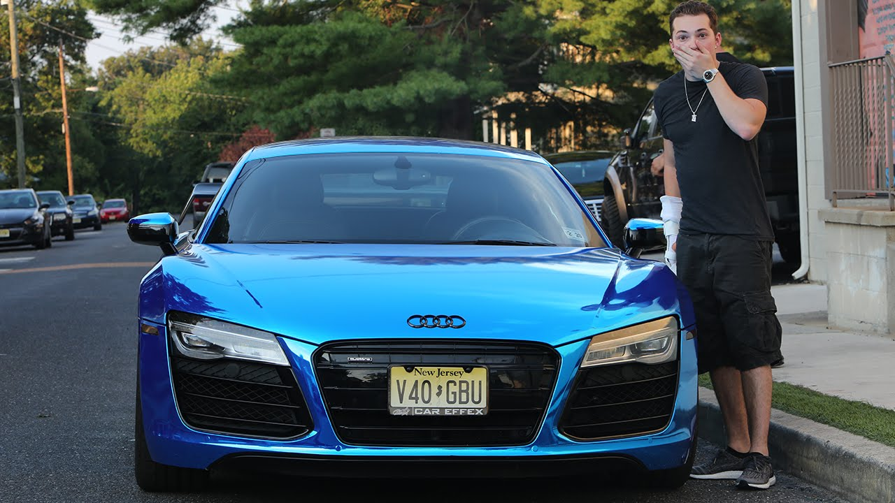 photo of Lance Stewart Audi R8 V10 - car