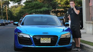 I CAN'T BELIEVE THEY DID THIS TO MY CAR.. (AUDI R8 V10) - SUPERCAR