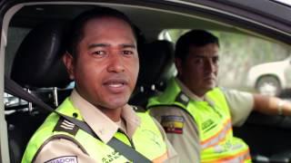 La Policía Nacional del Ecuador te desea una feliz Navidad