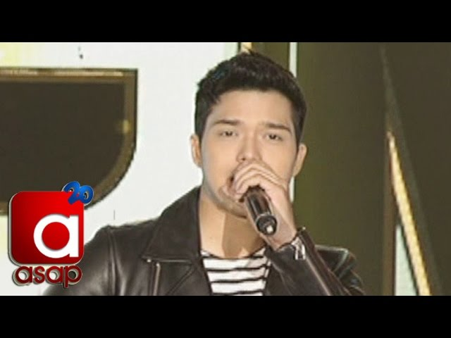 "ASAP: Elmo Magalona sings Justin Bieber's ""What Do You Mean"""