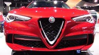 2018 Alfa Romeo Stelvio - Exterior and Interior Walkaround - Debut at 2016 LA Auto Show