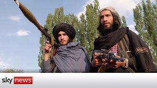 Afghanistan Endgame:  Taliban seize abandoned American army bases.
