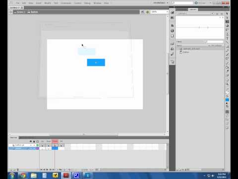 How to add sound to a button in Adobe Flash Professional