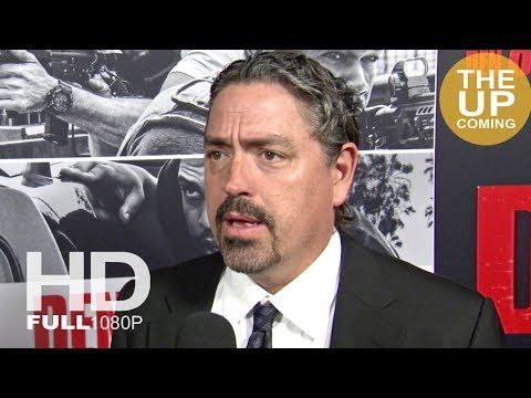 Den Of Thieves: Christian Gudegast Interview At Premiere