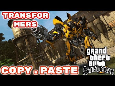 How To Download And Install Transformers Mod Gta San Andreas