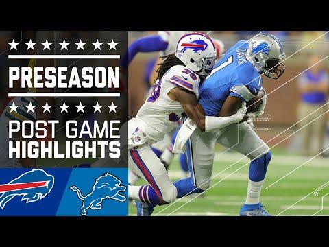 Bills Vs. Lions | Game Highlights | NFL